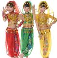 3Colors Chiffon Kids Belly Dance Costume Set children belly dancing Performance Cloth Children Dancing Clothing