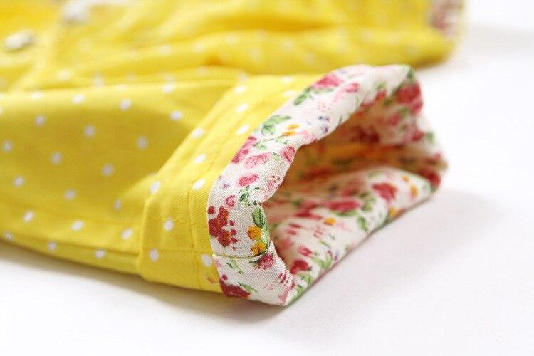 crianças flor algodão doce com capuz outwear