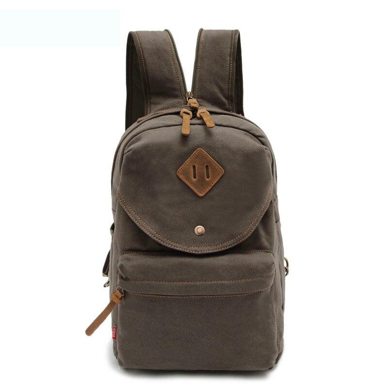Restore Ancient Ways Men Women Canvas Backpack Designer Preppy Style Large Schoolbag Fashion Leisure Chest Pack Chic Sling Bag
