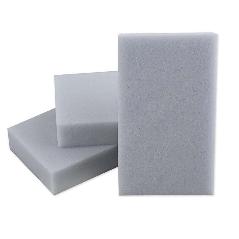 50pcs/lot Gray Magic Melamine Sponge100*60*20mm Household Cleaning Eraser Multi-functional Sponge nano Sponge dish free shipping