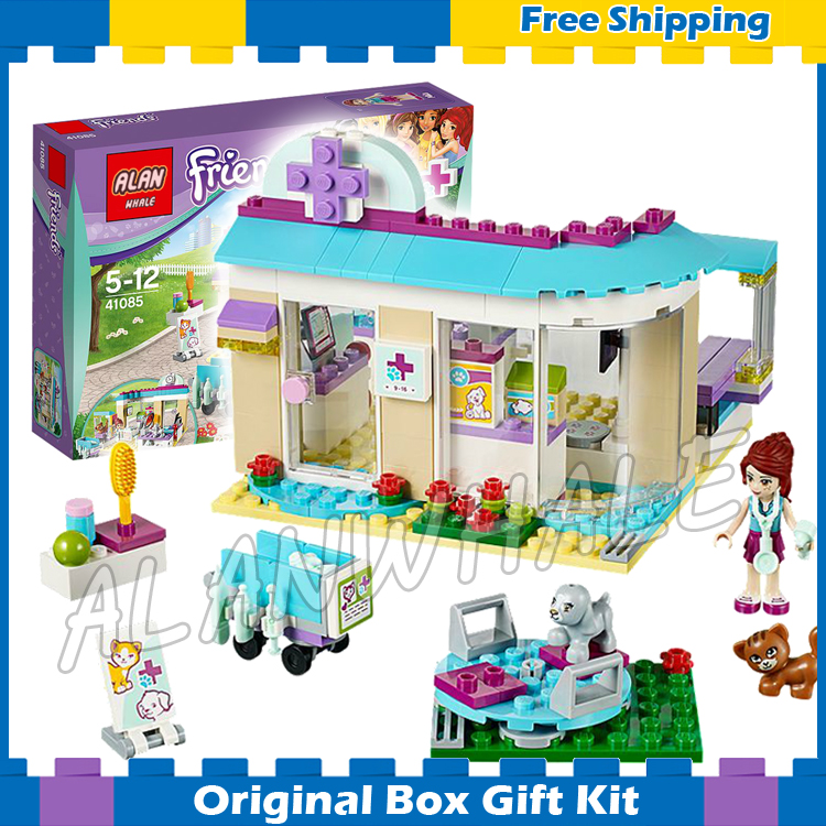 207pcs New 79165 Friends Series Vet Clinic Model Building Brick Educational Toys girls Birthday Gift Compatible