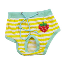 Pet Dog Puppy Diaper Pants Physiological Sanitary Short Panty Underwear S M L