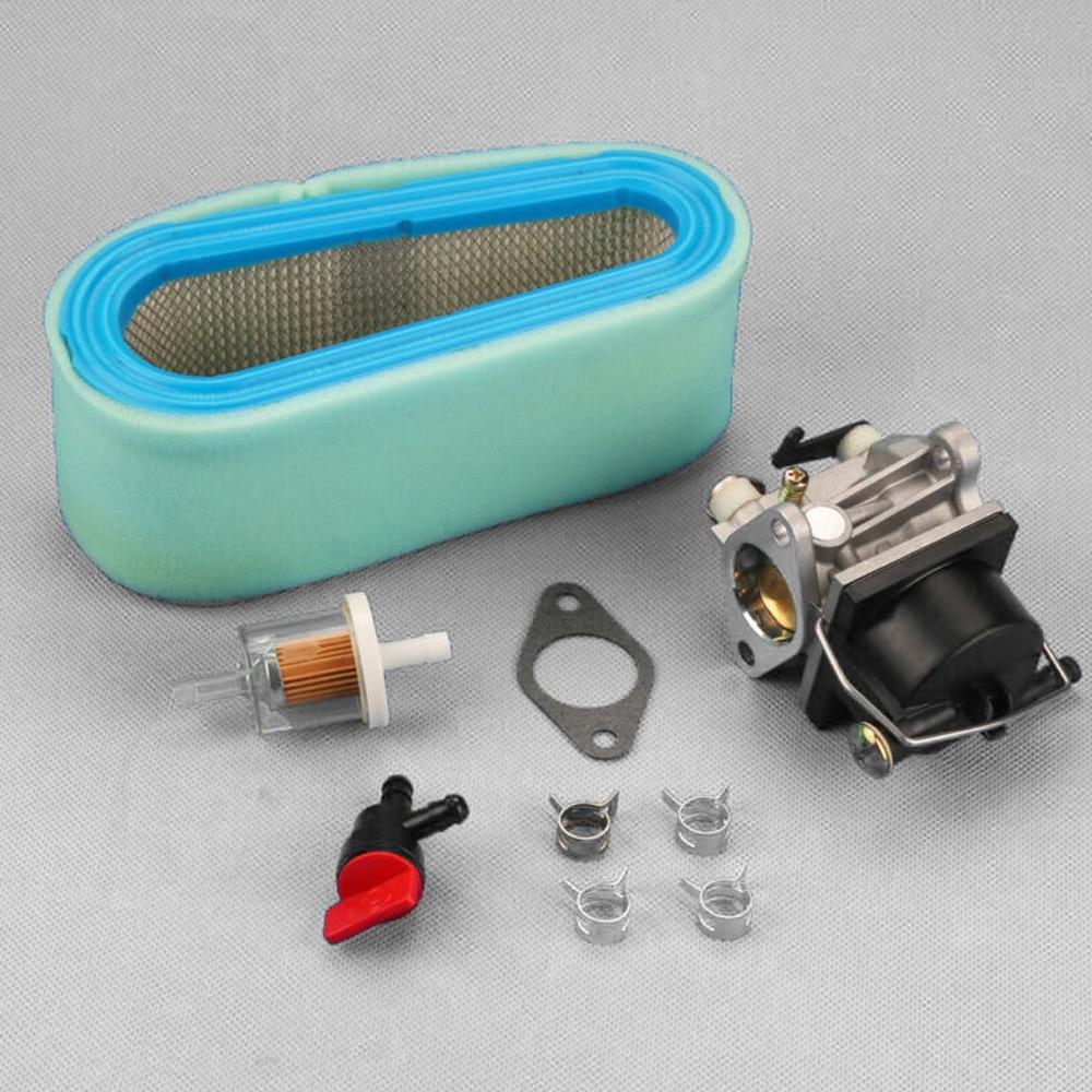 Parts Carburetor Gasket Air Filter Shut-off Valve Clamps Replacement For Tecumseh 640065 13HP 13.5HP 14HP 15HP