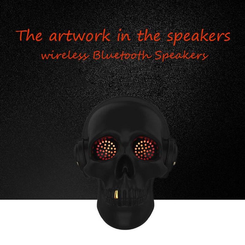 Newest Skull Bluetooth Speaker SADAN LED Wireless Speakers for iPhone Samsung