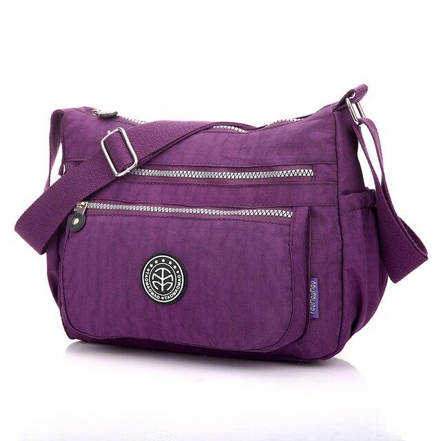 915d5a7d5e6b US $33.15 15% OFF|Women's Messenger Bags Ladies Nylon Handbag Travel Casual  Original Bag Female High Quality Large Capacity Crossbody Bag -in Shoulder  ...