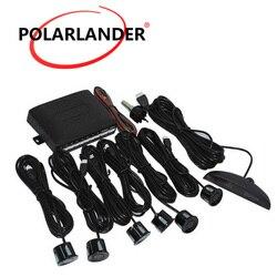 Podświetlenie wyświetlacz LED Auto rewers tylna Radar system detektorów czujnik parkowania 6 czujników sygnał alarmowy BEBE głośny samochód LED|Czujniki parkowania|Samochody i motocykle -