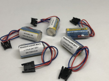 MasterFire 5pcs/lot New Original MR-BAT ER17330V ER2/3A 17330 3.6V PLC Battery Batteries Servo MR-BAT PLC Battery