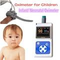 Oxímetro de pulso infantil/New Born/Pediátrica Oxímetro de pulso dedo SPO2 monitor de oxímetro de pulso portátil com sonda infantil