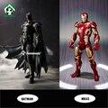 Novo Homem De Ferro Batman Action Figure Super Heroes Avengers MK43 Crianças Brinquedos Toy Figuras de Ação Collectible Toy Presente