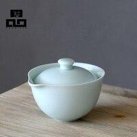 Drinkware Coffee Tea Sets Ceramic TeaPot Gaiwan Tea Set TeaCup Porcelain Chinese Kung Fu Tea Set
