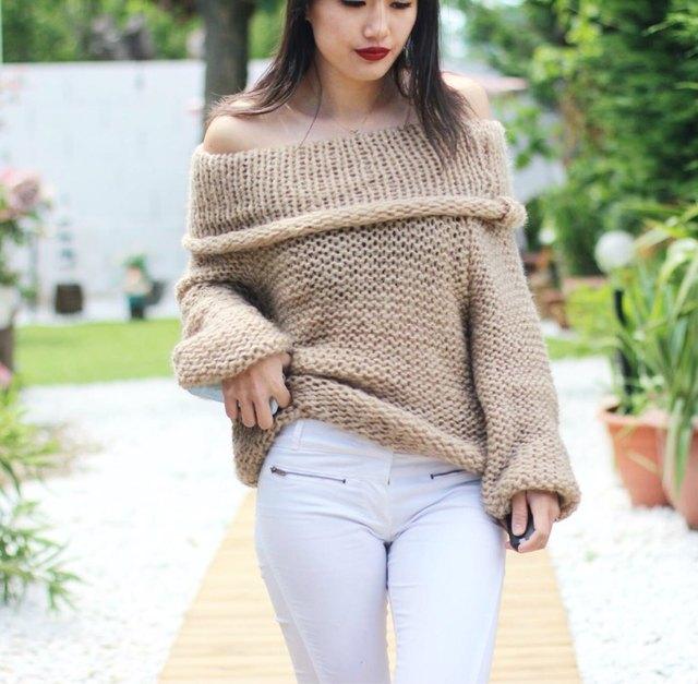 2016 новая мода женщин сексуальное с плеча вскользь пуловер свитер пончо свободные трикотажные пуловеры негабаритных трикотаж jumper