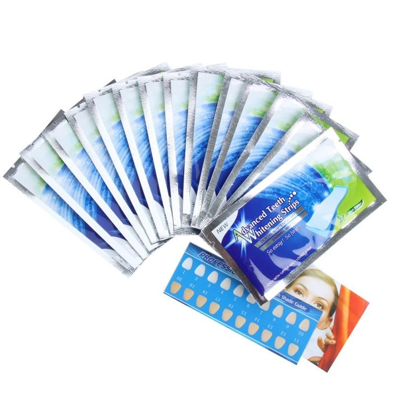 Práctico 28 UNIDS Profesional Inicio Dientes Para Blanquear - Higiene oral - foto 5