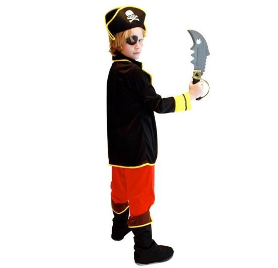 Christmas Halloween Costumes Children Cloplay Costume Boys 39 Captain Jack Clothing Pirates Clothes party masquerade in Boys Costumes from Novelty amp Special Use