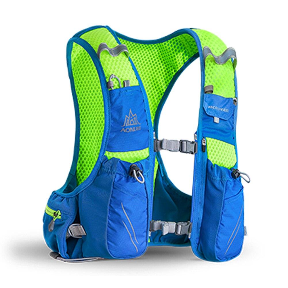 AONIJIE E904S 10L Paquete de hidratación mochila chaleco arnés agua de la vejiga senderismo Camping corriendo maratón carrera deportes - 2