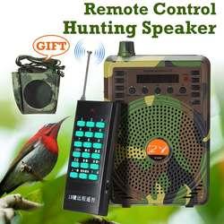 48 W/38 W przynęta do polowań połączenia elektroniczny ptak dzwoniący kamuflaż elektryczny przynęta do polowań głośnik MP3 głośnik zdalny zestaw sterowniczy|Wabik myśliwski|Sport i rozrywka -