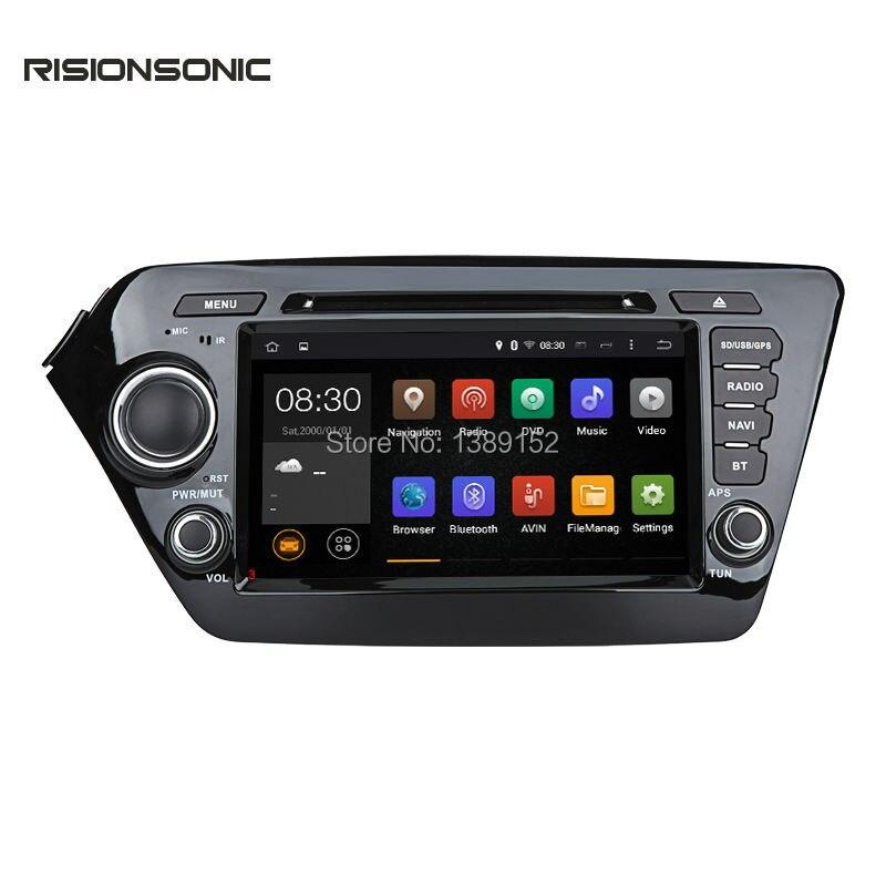 Android Car DVD GPS Player For Kia K2 Rio Navigation Radio Navigation 2011 2016