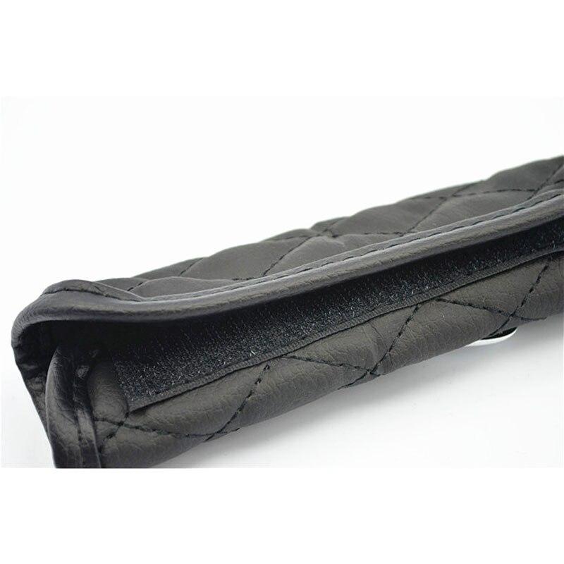 Juego de fundas de cuero para perillas de palanca de cambios y frenos - Accesorios de interior de coche - foto 4