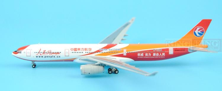 Spike: Wings XX4380 JC China Eastern Airlines B-6126 1:400 people's network A330-300 commercial jetliners plane model hobby special offer wings xx4232 jc korean air hl7630 1 400 b747 8i commercial jetliners plane model hobby