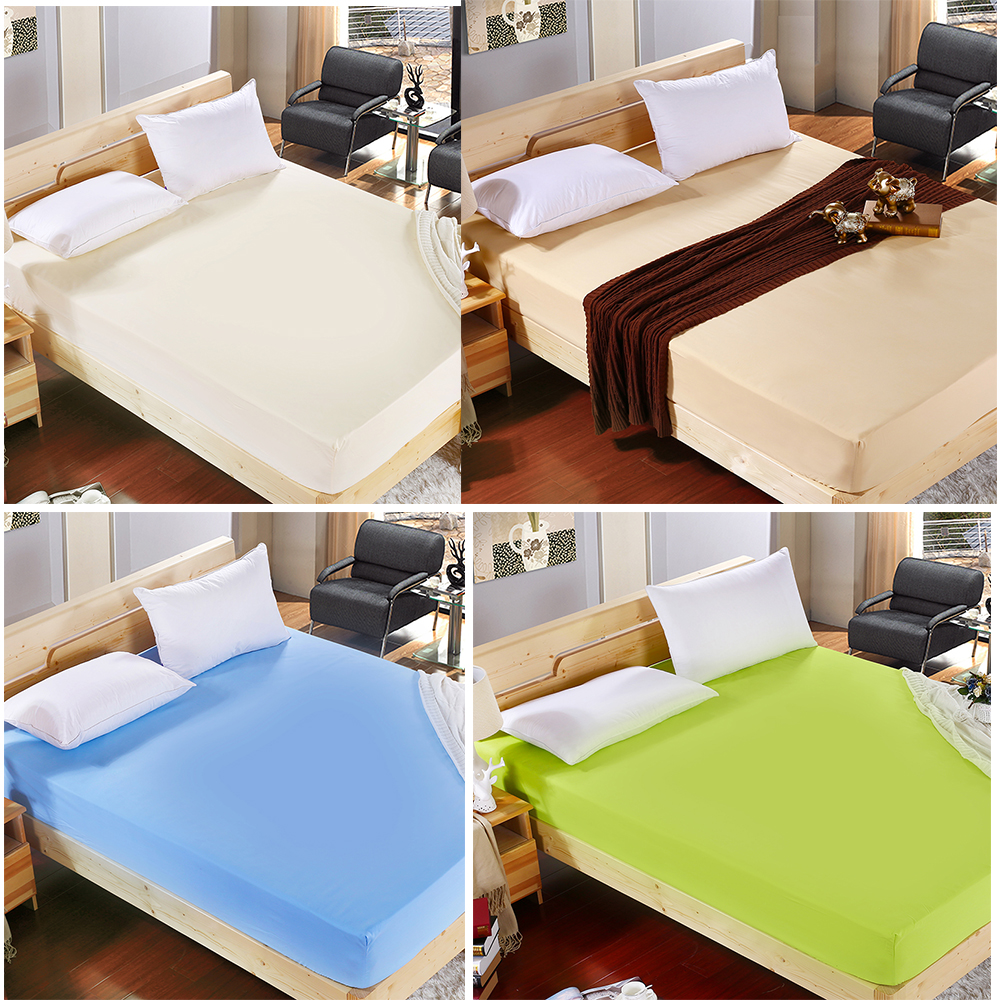 Wholesale Solid Color Fitted Sheet ᗖ Bed Bed Sheet