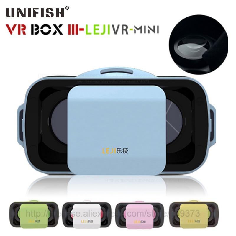 Nova CAIXA III 3.0 LEJIVR VR Mini Capacete de Realidade Virtual 3D óculos  Google Papelão VR fone de Ouvido para o Vídeo 4.5 5.5 polegada Do Telefone  Móvel ... 3f816201be