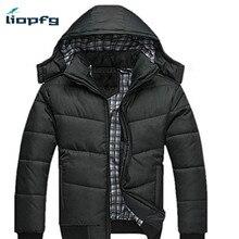 DIMUSI 2017 Jackket Men Winter Jacket Big Size M-4XL New Arrival Casual Slim Cotton With Hooded Parkas Casaco Masculino ,WM54