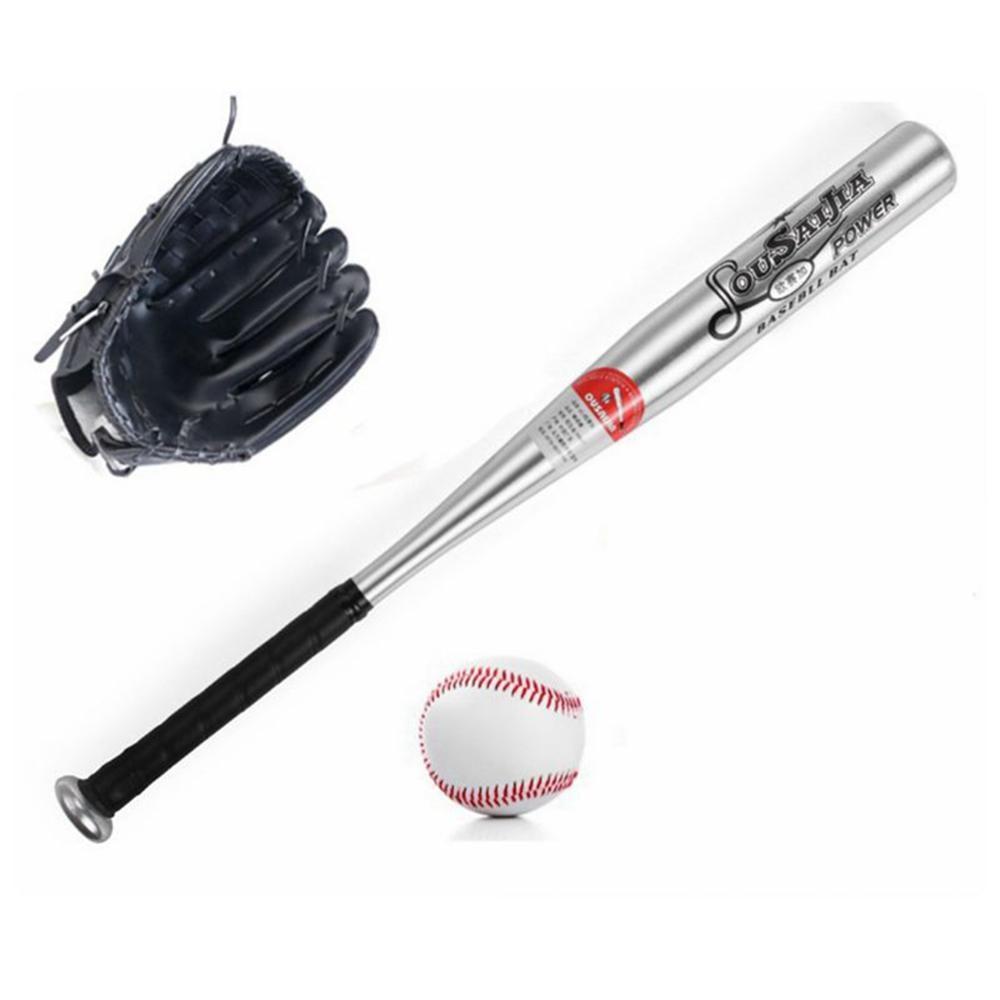 Batte de Baseball en Aluminium Ensemble de baseball 2 Batte Baseball Aluminium