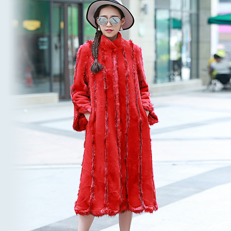 High Quality Red Mink Coat-Buy Cheap Red Mink Coat lots from High ...