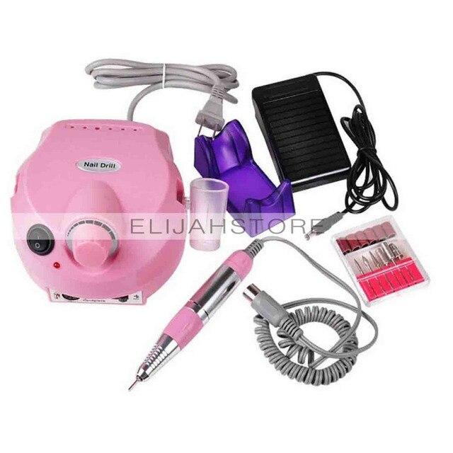 Luz Eléctrica portátil Máquina de Pulir uñas Uñas EE. UU. Plug 202 ...