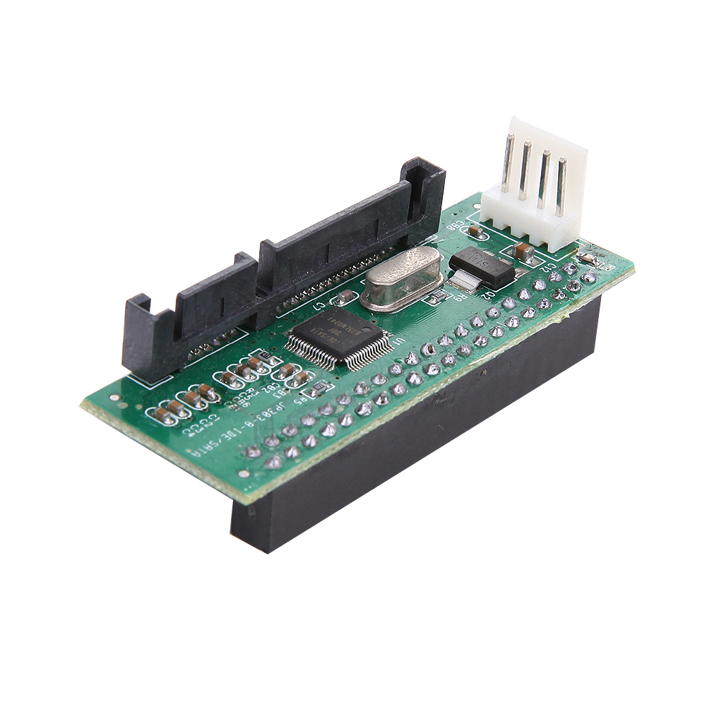 40-Pin IDE Female To SATA 7+15Pin 22-Pin Male Adapter IDE TO SATA Card coverter with 4 Pin Power Cable for 3.5 inch hard disk