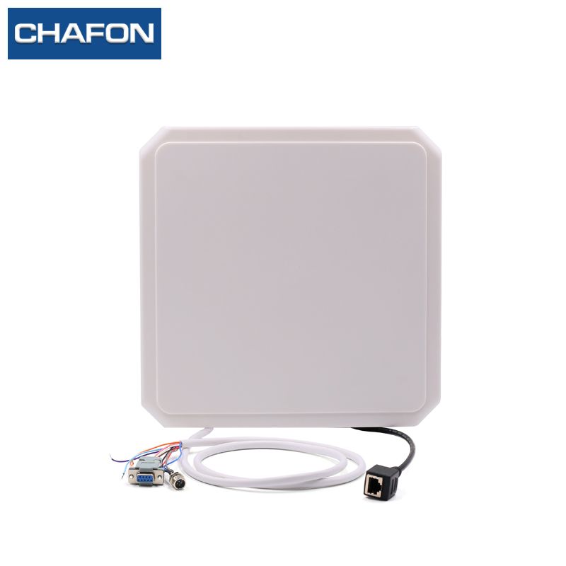 CHAFON 868mhz long range 10m uhf rfid reader rj45 RS232 WG26 RS485 for vehicle parking and warehouse management effective warehouse management
