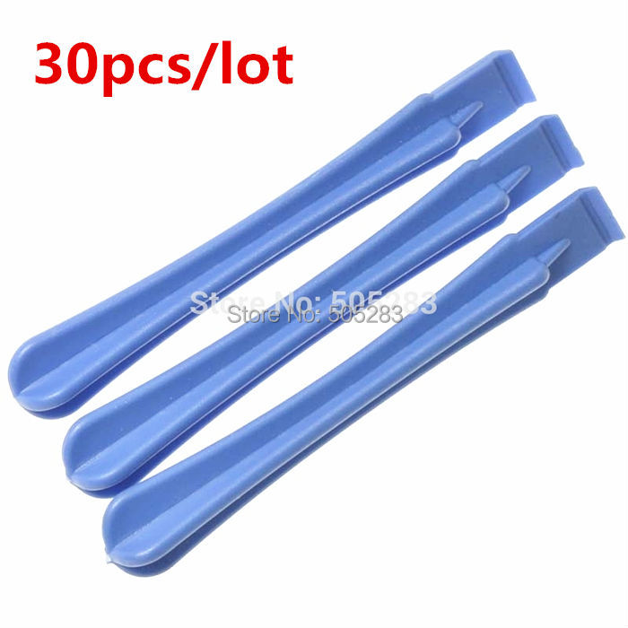 30pcs Plastic Spudger for iPhone/iPad/Samsung Phone Tablet Pry Opening Tool Screwdriver Disassemble Fix Repair tools HY264*30 qfn52 mlf52 wlcsp52 burn in ic test socket with clamshell np506 052 052 g adapter pitch 0 4mm chip size 7 7 programming socket
