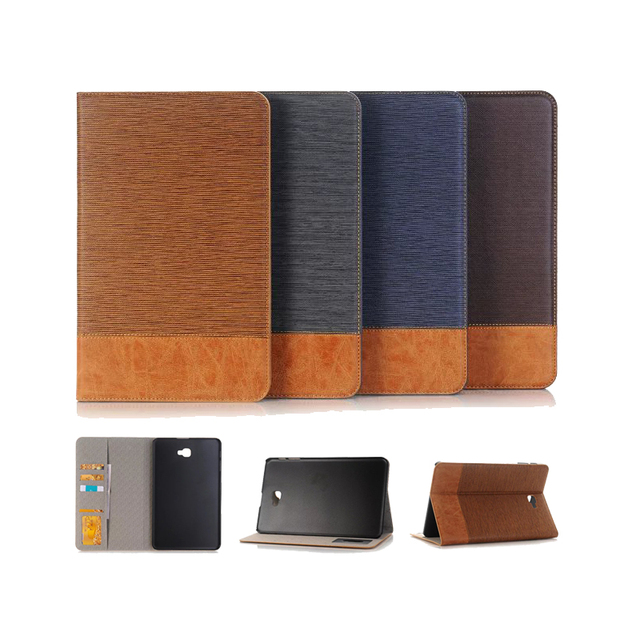 ГОРЯЧАЯ! новый Флип PU кожаный Чехол Для Samsung Galaxy Tab A A6 10.1 2016 T585 T580N T580 tablet stand Крышки