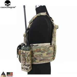 Image 3 - EMERSONGEAR LBT Tactical Weste Mit Mag Pouch Molle Chest Rig Weste Airsoft Paintball Military Armee Kampf Weste Multicam EM7440