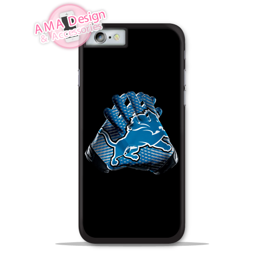 Detroit Lions Football Glove Phone Cover Case For Apple iPhone X 8 7 6 6s Plus 5 5s SE 5c 4 4s For iPod Touch
