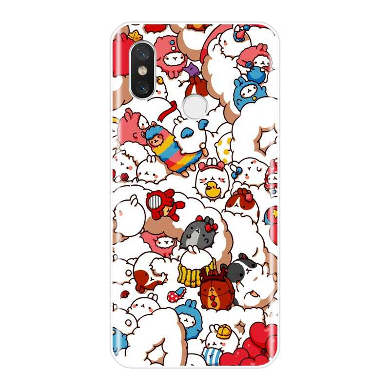 Śliczne Unicorn telefon obudowa do Xiaomi mi 5 5C 5S 5X6 6X Plus silikon miękki TPU powrót etui na Xiaomi mi A1 a2 8 Lite SE przypadku