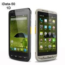 4.7 дюймов промышленных смартфон Беспроводной ручной android КПК сканера штриховых кодов 4 г сбора данных