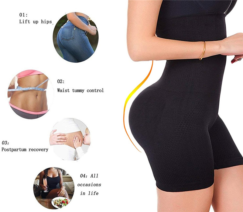 Sexy Butt Lifter Women Slimming Shapewear High Waist Trainer Body Shaper