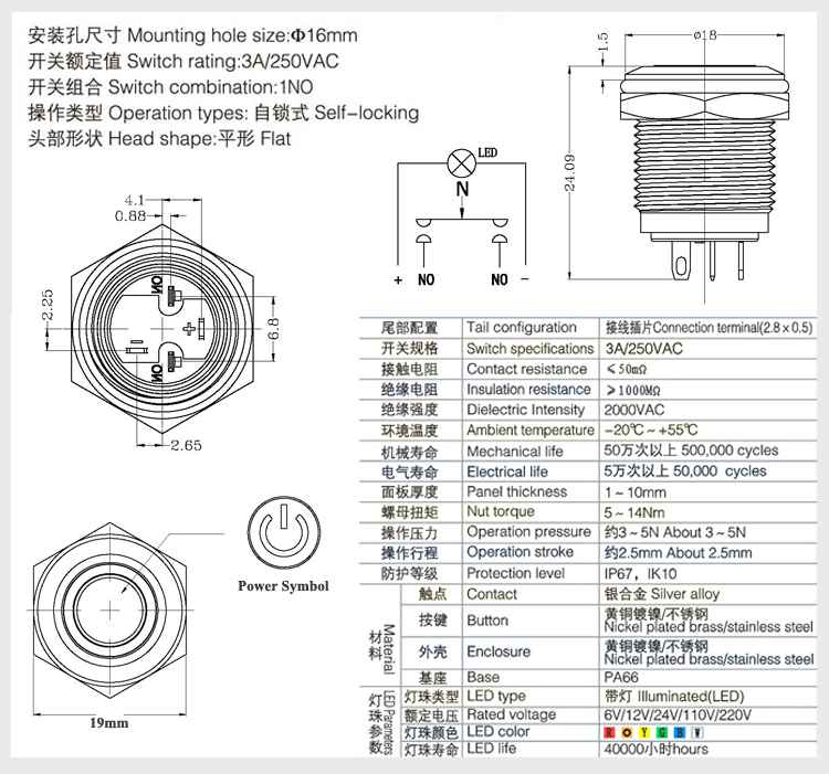 IB16E-P10Z-E-Power