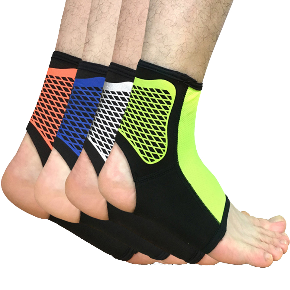 1pcs Sports Ankle Support Football Basketball Badminton Sport Protection Bandage Elastic Ankle Sprain Brace Guard Protect Spare No Cost At Any Cost