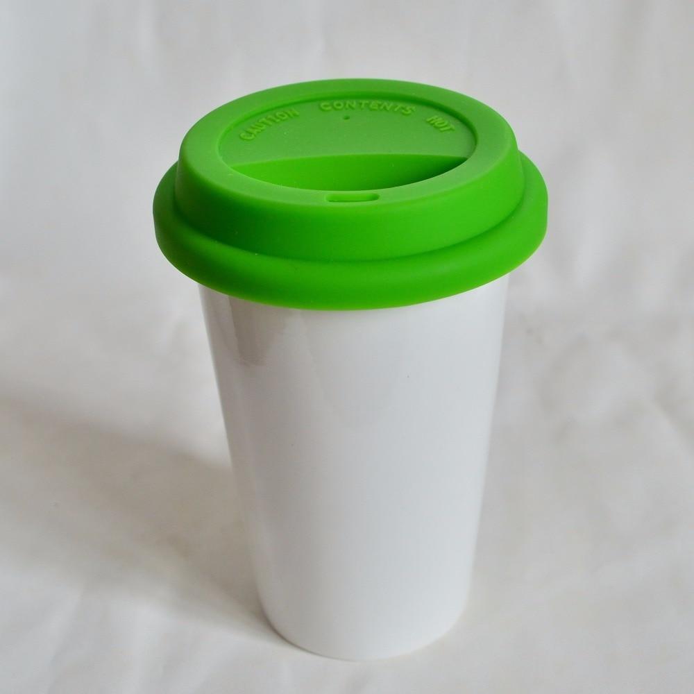 20 Uds./unids/lote tazas de silicona tapa para Taza de cerámica, tapas de taza de silicona para tazas de bambú, tapas de taza de café FDA para taza de 350 ML-in Accesorios de botellas de agua y tazas from Hogar y Mascotas    3
