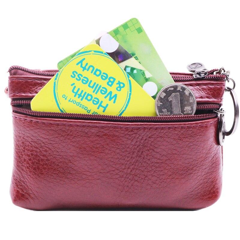 genuíno mulheres de couro carteiras Volume : Small Size Large Capacidade