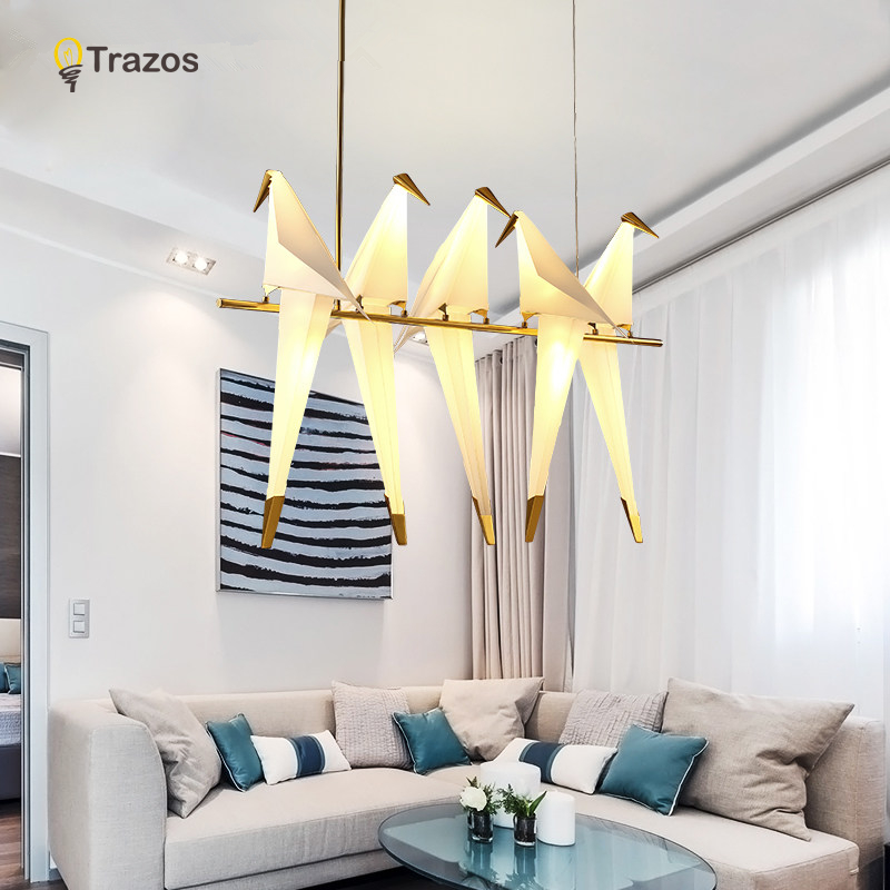 2017 Modern LED Pendant Lights For Living Room lamparas de techo Indoor Lamp Light Fixture luminaires suspendus lustre noosion modern led ceiling lamp for bedroom room black and white color with crystal plafon techo iluminacion lustre de plafond
