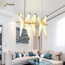 2017 Nowoczesny Wisiorek Światła LED Do Salonu Lampa lamparas de techo Kryty Światła Oprawa oprawy suspendus lustre