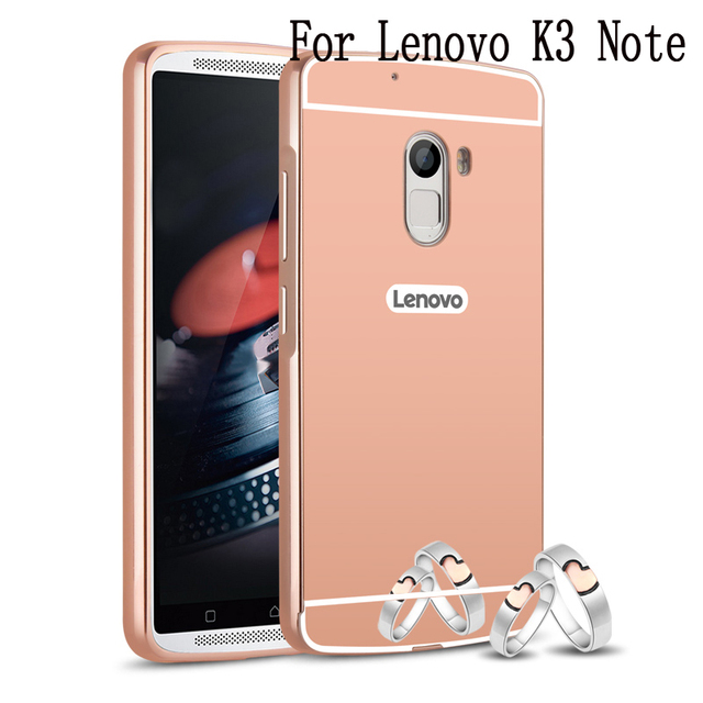 free shipping 0084e 97394 US $4.71 |For Lenovo K3 K3 Note K4 Note Mirror Aluminum Metal Frame Back  Cover Ultra Thin Mobile Phone A6000 A7000 A7010 Hard Case-in Phone Bumper  ...