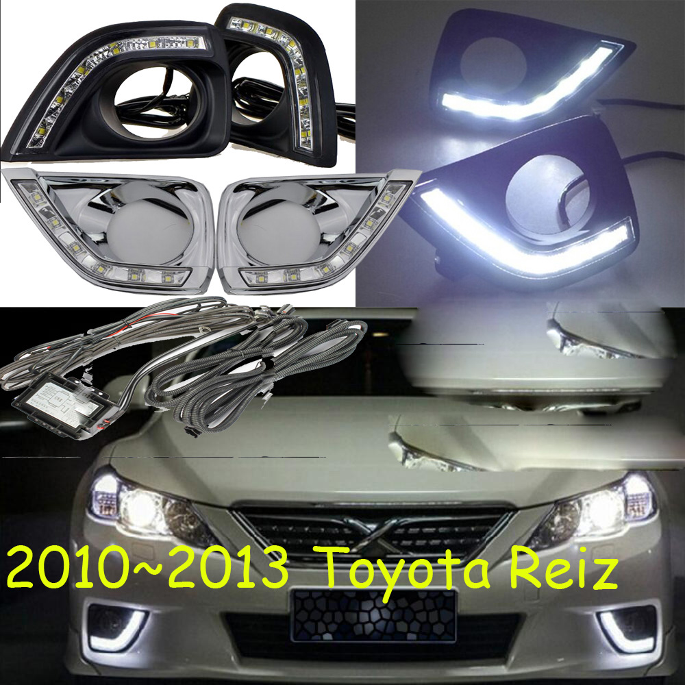 LED 2010 2013 Reiz day Light Reiz fog light Reiz headlight vios corolla camry Hiace tundra