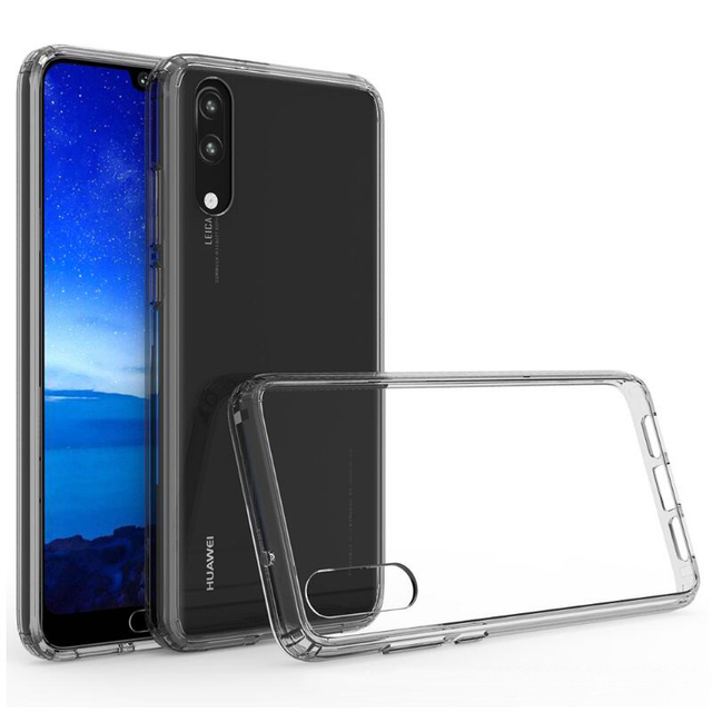 huge discount 2b46f bbe58 US $3.78 20% OFF|Phone Case For Huawei P20 Lite Safe Anti knock Frame Clear  View Cover For Huawei P20 Pro Protector Cases For Huawei P20 fu308-in ...