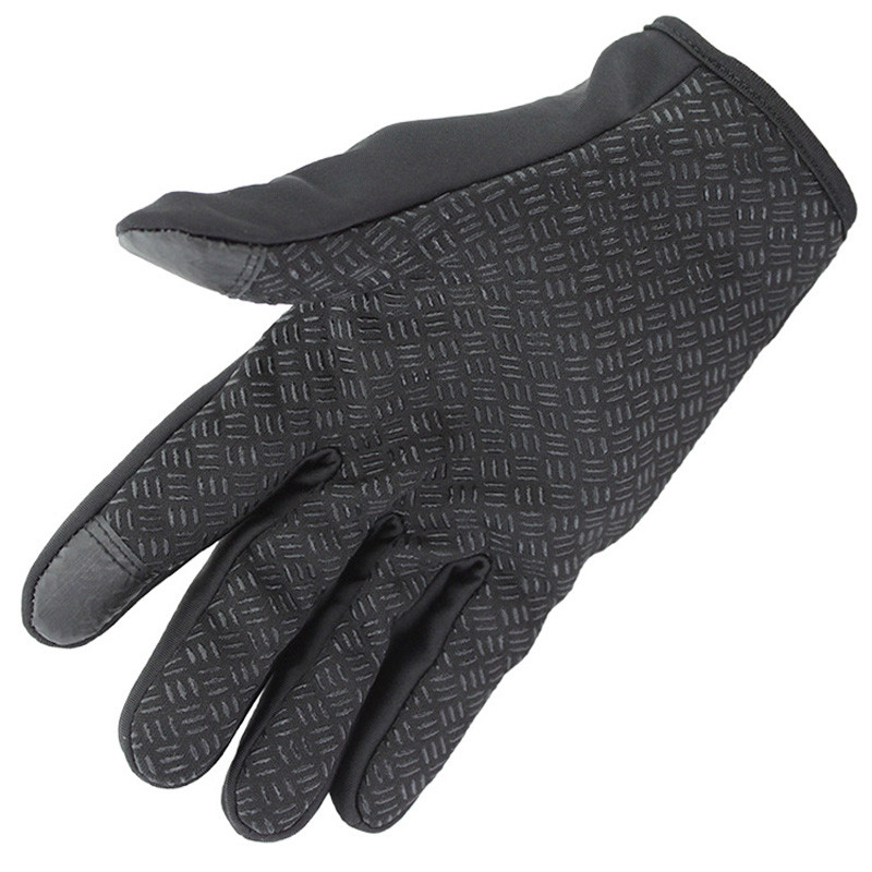 Windstopers Gloves Anti Slip Windproof Thermal Warm Touchscreen Glove Breathable Tactico Winter Men Women Black Zipper Gloves 20
