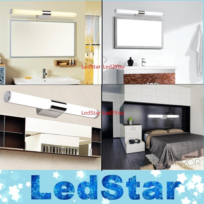 new modern 8w10w 40cm46cm led bathroom light fixtures mirror wall light indoor