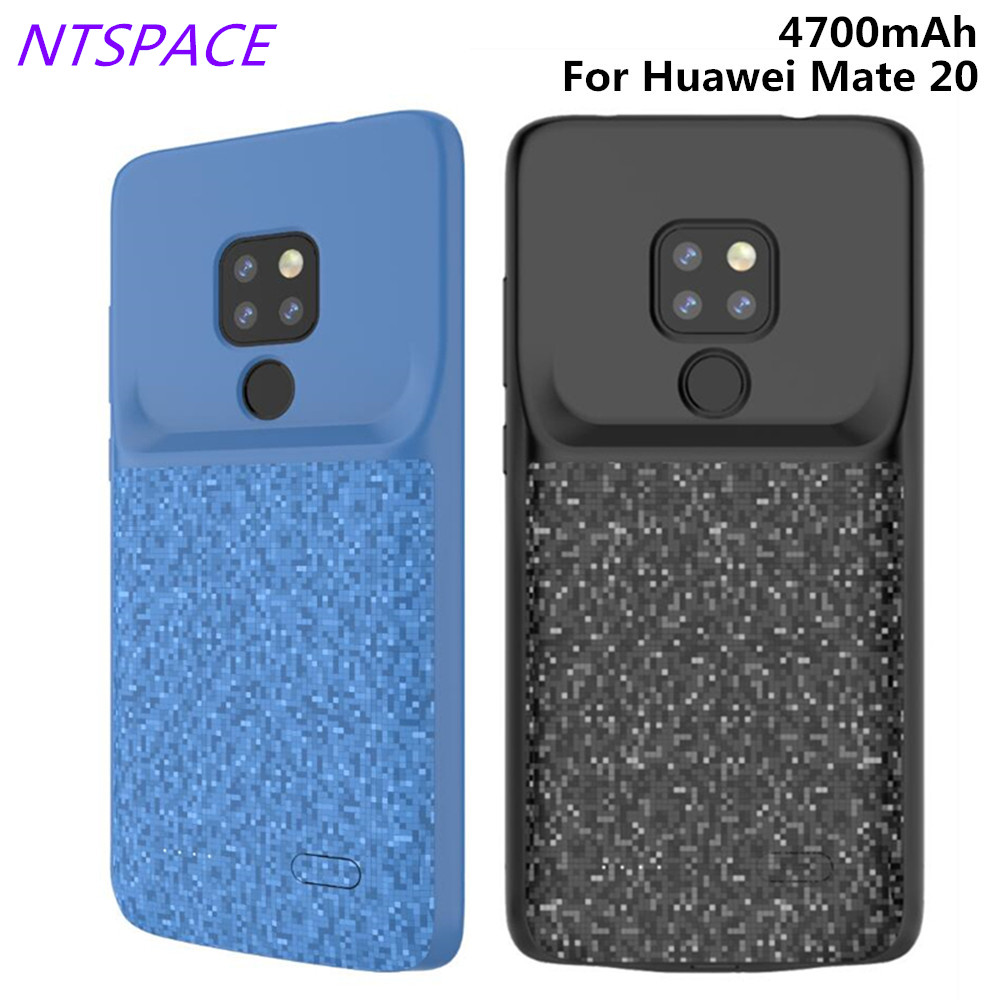 4700mAh Portable Battery Charging Case For Huawei Mate 20 Backup Battery Power Case External Power Bank Battery Charger Cover in Battery Charger Cases from Cellphones Telecommunications