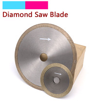 1pcs Diamond Grinding Disc Circular Scroll Saw Blades Cutting Disc Wheel Hot Pressed Sintered Mesh Turbo For Glass 4'' to 14''